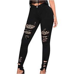 Jeans for women stretch skinny,Womens Hole Button Zipper Pocket Jeans Casual Denim Flares Wide Leg Slim Pants,Womens Vintage Boot-Cut Flared Denim Jeans Ladies High Waist Jeans
