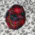 Coach Accessories | Authentic Coach Plaid Hat | Color: Green/Red | Size: Os
