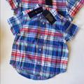 Polo By Ralph Lauren Shirts & Tops   Nwt Ralph Lauren Boy Plaid Cotton Poplin Shirt   Color: Red/White   Size: Various