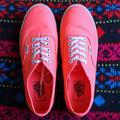 Vans Shoes | Authentic Vans Casual Sneakers | Color: Pink | Size: 8