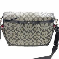 Coach Bags | Coach Signature Canvas Baby Messenger Bag F18373 | Color: Black/Gray | Size: Os