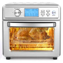 Ancheer 16-In-1 Air Fryer Toaster Oven, 21 Quart/20L Large Air Fryer Oven, Convection Oven Airfryer w/ Rotisserie, Dehydrator & Pizza, LED Digital S
