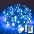 Color Changing String Lights 33Ft 100 LED Waterproof Twinkle Lights USB Fairy String Lights with Remote and Power Adapter Fairy Lights Plug in String Lights for Bedroom Led String Lights, 16 Colors