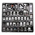 BUDDE 42Pcs Domestic Sewing Machine Presser Foot Feet Kit Set,Fits for Brother, Baby Lock, Singer, Elna, Toyota, New Home, Simplicity, Janome, Kenmore, and White Low Shank Sewing Machine