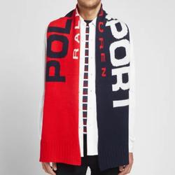 Polo By Ralph Lauren Accessories | Polo Ralph Lauren Polo Sport Color Block Scarf | Color: Blue/Red | Size: Os