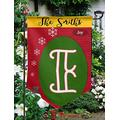 """Customized Garden Flag,12.5"""" x 18"""" Twin Printed,Waterproof Polyester,Without Flagpole,Joy to The World, Personalized Yard Sign Flag for Garden Decor."""