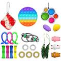 TYFY Fidget Toy Pack Cheap, 23 Pack Sensory Fidget Toys Set, Anxiety Relief Toy, Occupational Therapy Toys, Fidget Toys for Kids, Kids Sensory Toys for Sensory Play, Anxiety Relief Items for Kids