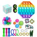 TYFY Fidget Toy Pack Cheap, 20 Pack Sensory Fidget Toys Set, Anxiety Relief Toy, Occupational Therapy Toys, Fidget Toys for Kids, Kids Sensory Toys for Sensory Play, Anxiety Relief Items for Kids