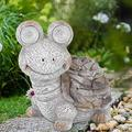 Emoshayoga Garden Decorative Light Economic Decorative Animal Figurine for Decorating Landscape Garden for Providing Lighting