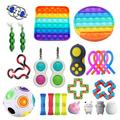 TYFY Fidget Toy Pack Cheap, 24 Pack Sensory Fidget Toys Set, Anxiety Relief Toy, Occupational Therapy Toys, Fidget Toys for Kids, Kids Sensory Toys for Sensory Play, Anxiety Relief Items for Kids