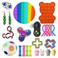 TYFY 23 pack sensory fidget toys set,fidget toy pack cheap,Anxiety Relief Toy, Occupational Therapy Toys, Fidget Toys for Kids, Kids Sensory Toys For Sensory Play, Anxiety Relief Items for Kids