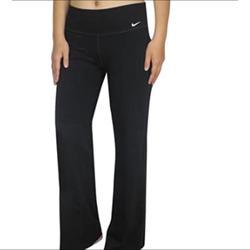Nike Pants & Jumpsuits   Nike Womens Dri-Fit Boot Cut Yoga Training Pants   Color: Black   Size: M