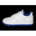 Baskets Nike Air Force 1 Homme Stitch Blanche Et Bleu Royal