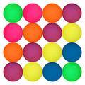 Entervending Bouncy Balls - Rubber Balls for Kids - Frosty Bounce Balls - 25 Pcs Large Bouncy Ball 45 mm - Super Ball Vending Machine Toys - Bouncing Balls Party Favors