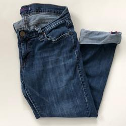 Levi's Jeans | Levis Cuffed Tilted 504 Denim Jeans | Color: Blue | Size: 7j