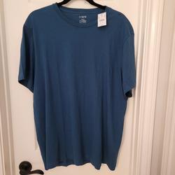 J. Crew Shirts   Jcrew Men'S Crew Neck Shirt Nwt   Color: Blue   Size: Xl
