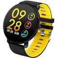 Mens Fitness Tracker Smart Watch for Android iOS Smart Wristband Bracelet with Blood Pressure Trackers Heartrate Smartwatch Activity Tracker Men Sleep Tracker BP HR Fitness Watch