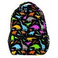 Dinosaur Dino World Laptop Backpack for Men School Bookbag Travel Rucksack Daypack School Bag for Women Girls