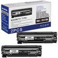 2-Pack 78A | CE278A Black Toner Cartridge Compatible Replacement for HP Laserjet Pro P1606dn P1606 P1566 P1560 M1536dnf MFP Printer Toner (2,200 Pages)