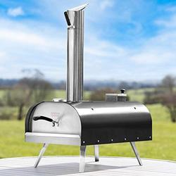 "Harrier ARVO Small Pizza Oven - Portable Outdoor Pizza Oven for 9"" Pizza 