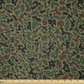 East Urban Home Ambesonne Camouflage Fabric By The Yard, Green Camo Pattern Abstract Formless Design Blending Into The Forest in White   Wayfair