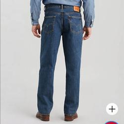 Levi's Jeans | 560 Comfort Fit Jeans Big And Tall Denim Jeans New | Color: Blue | Size: 38