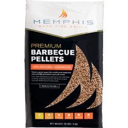 Memphis Wood Fire Grills Memphis Hickory Wood Pellets - 20 LB Bag, Size 21.0 H x 14.0 W x 3.5 D in   Wayfair MGHICKORY