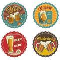Trinx Set Of 4 Beer Coasters Ceramic, Size 0.25 H x 0.25 D in | Wayfair 052D8C7B34F74D04A8886E9E705003A7