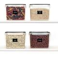 Prep & Savour Vtopmart Airtight Food Storage Containers 4 Pieces 3.3 Quart/3.6L- Plastic PBA Free Kitchen Pantry Storage Containers For Sugar