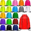 40 Pieces Drawstring Backpack Bags Gym Cinch Bags Polyester String Bags Portable Cinch Tote Sacks Sport Storage Bag for School Travel Gym Yoga Outdoor Sports, 20 Colors