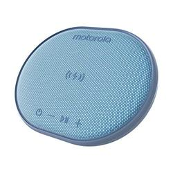 Motorola Sonic Sub 500 Bluetooth IPX7 Waterproof Speaker with Built in 10W Fast Wireless Charging Capability - Blue
