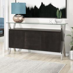 """Wade Logan® Hadrian 63"""" Wide 2 Drawer Sideboard Wood in Gray, Size 34.0 H x 63.0 W x 18.0 D in   Wayfair 65B086CB963F4166A6CB2C93ED384DEA"""