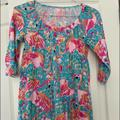 Lilly Pulitzer Swim | Lilly Pulitzer Cover Up With Fringe Bottom | Color: Blue | Size: Xs