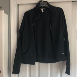 Under Armour Jackets & Coats | Black Under Armour Jacket | Color: Black | Size: M