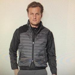 Ralph Lauren Jackets & Coats | Men'S Gray Rlx Golf Valor Quilted Vest | Color: Black/Gray | Size: Xl