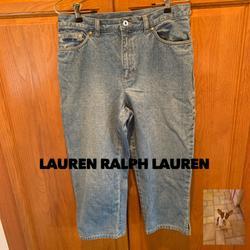 Ralph Lauren Jeans   Lauren Jean Co Cropped Jeans Size 10   Color: Blue   Size: 10