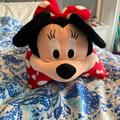 Disney Bedding | Disneys Minnie Mouse Pillow Pet | Color: Red/White | Size: Os