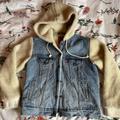 Levi's Jackets & Coats | Levis Hooded Sherpa Jean Jacket | Color: Blue/Cream | Size: S