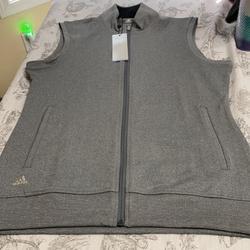Adidas Jackets & Coats   Nwt Adidas Light Gray Vest   Color: Gray/Silver   Size: M