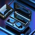 """SILENT YOUTH Bluetooth 5.0 Headset Wireless In Ear Earphones Tws Earbuds Deep Bass Headphone Deep Bass For Sport Running, Size 7""""H X 6""""W X 11""""D"""