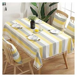 Table Cloth Rectangular Table Cloth, Coffee Table Table Cloth Cotton Linen Nordic Modern Household Table Cloth TV Cabinet Table Cloth Table Cover (Color : 1#, Size : 140180cm)