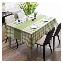 Table Cloth Table Cloth, Fashionable and Simple Table Cloth Rectangular Table Cloth Table Mat Tea Table Cloth Durable and Oil-Proof Table Cover (Color : 1#, Size : 135180cm)