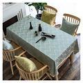 Table Cloth Coffee Table Cloth Table Cloth, Rectangular Table Cloth Cotton Linen Nordic Student Table Cloth Home Kitchen Decoration Table Cover (Color : 3#, Size : 90150cm)