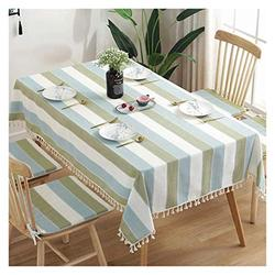 Table Cloth Rectangular Table Cloth, Coffee Table Table Cloth Cotton Linen Nordic Modern Household Table Cloth TV Cabinet Table Cloth Table Cover (Color : 3#, Size : 100140CM)