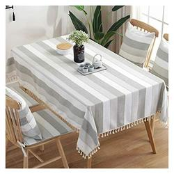 Table Cloth Rectangular Table Cloth, Coffee Table Table Cloth Cotton Linen Nordic Modern Household Table Cloth TV Cabinet Table Cloth Table Cover (Color : 2#, Size : 100140CM)
