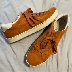 Coach Shoes   Coach Casual Sneakers   Color: Cream/Orange   Size: 11
