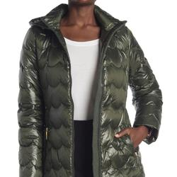 Kate Spade Jackets & Coats   New Kate Spade New York Down Scallop Coat   Color: Green   Size: S