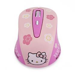 Souris d'ordinateur sans fil, 2.4G, silencieuse, ergonomique et créative, hello Kitty, jolie souris