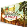 CANCAKA Large Gaming Mouse Pad,Las Vegas Sign Welcome to Fabulous Las Vegas,Nevada Sign,Non-Slip Rubber Mouse Pads Mousepad for Gaming Computer Office Desk,75×40×0.3cm