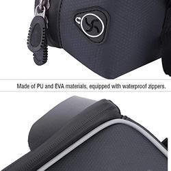 Bike Phone Mount Bags, Zipper Design Bicycle Phone Mount Bags, for Cycling Protecting Cell Phone